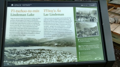 Notice how they specifically talk about the 2 miles from Deep Lake to Lake Lindeman